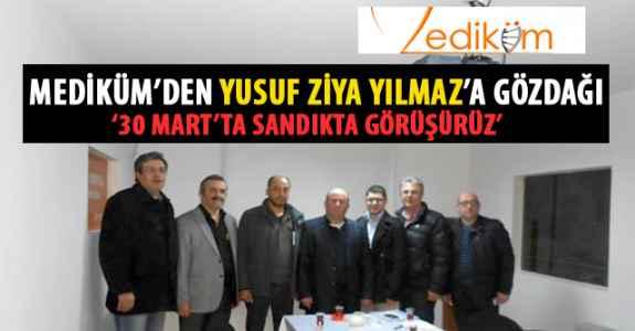 MEDİKÜM'DEN YUSUZ ZİYA YILMAZ'A GÖZ DAĞI!