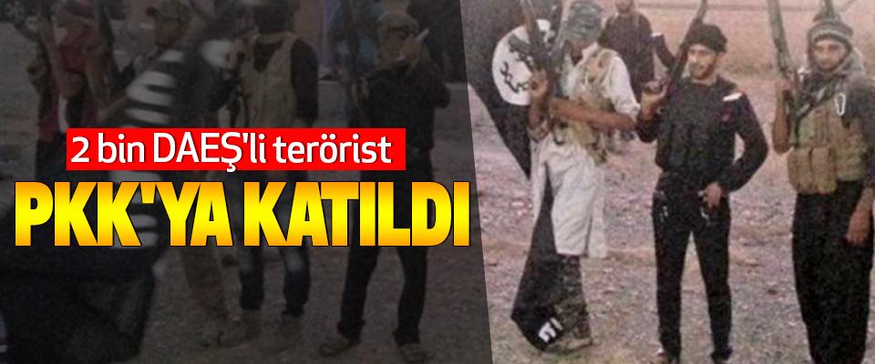 2 bin DAEŞ'li terörist Pkk'ya Katıldı