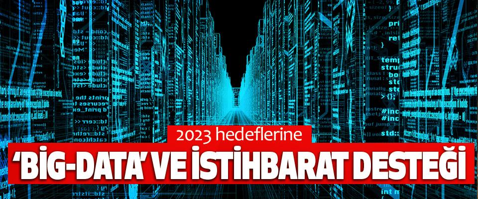 2023 hedeflerine 'Big-Data' ve İstihbarat Desteği
