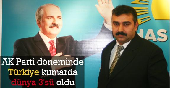 Türkiye Kumarda Dünya 3'sü Oldu