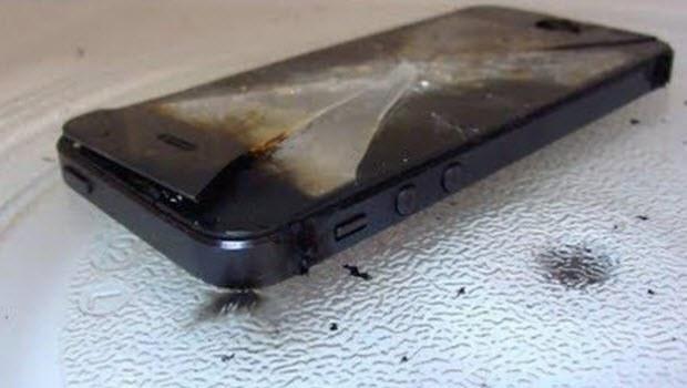 iPhone'ları yakan şaka