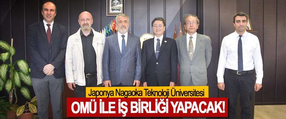 Japonya Nagaoka Teknoloji Üniversitesi OMÜ İle İş Birliği Yapacak!