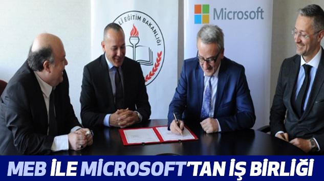 MEB İle Microsoft'tan İş Birliği