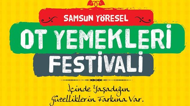 Samsun'da Ot Yemekleri Festivalinin İkincisi Düzenleniyor