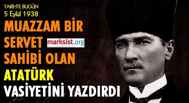 Atatürk'ün Serveti