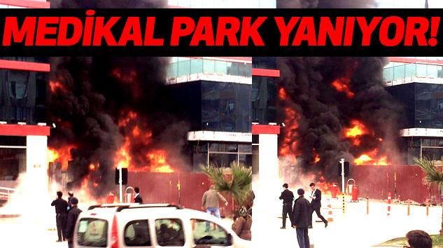 Samsun Medikal Park Yanıyor!
