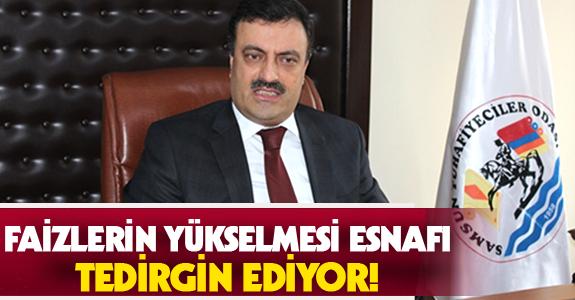 FAİZLERİN YÜKSELMESİ ESNAFI TEDİRGİN EDİYOR!