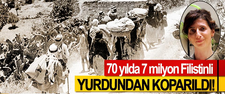 70 yılda 7 milyon Filistinli Yurdundan Koparıldı!