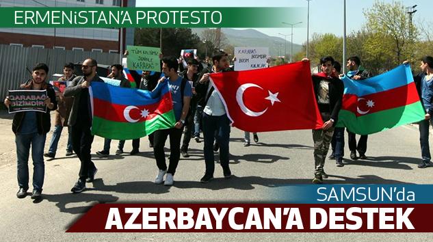 Samsun'da Protesto...