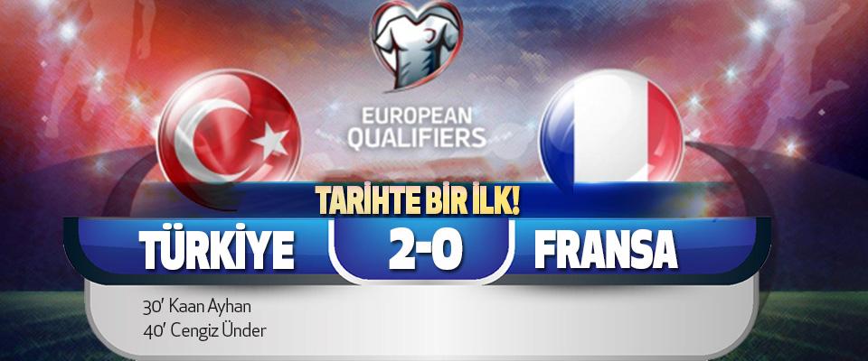A Milli Takımımız Fransa'yı 2-0 Yenerek Liderliğe Yükseldi