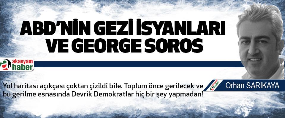 Abd'nin Gezi İsyanları Ve George Soros