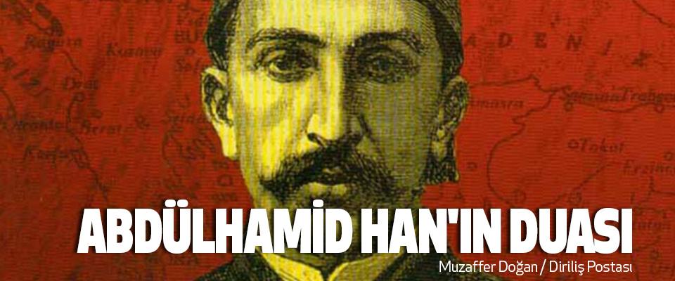 Abdülhamid Han'ın Duası