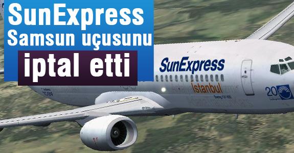 Sunexpress Havayolları Biletler İptal Edildi!