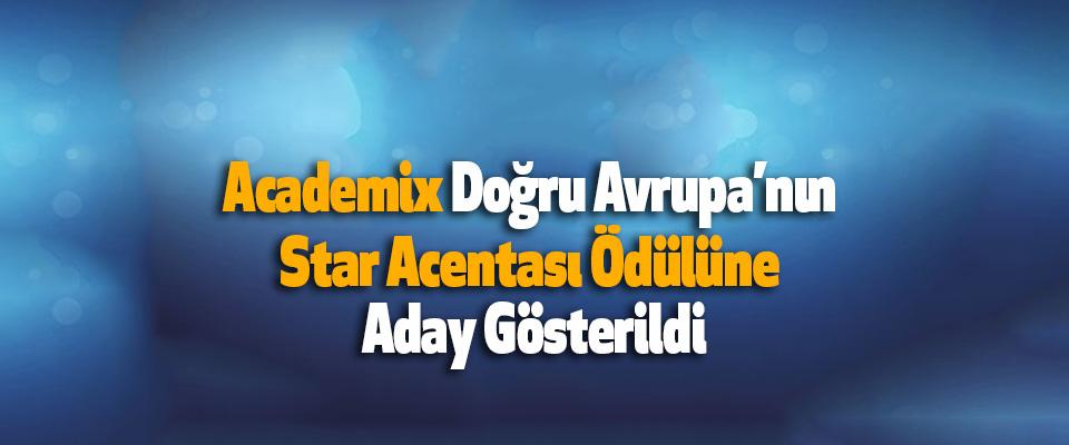 Academix Doğu Avrupa'nın Star Acentası Ödülüne Aday Gösterildi