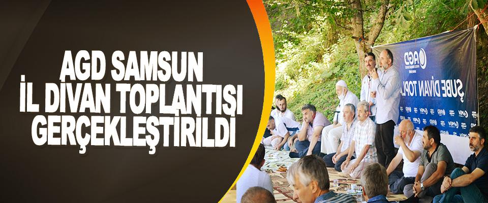 Agd Samsun İl Divan Toplantısı Gerçekleştirildi