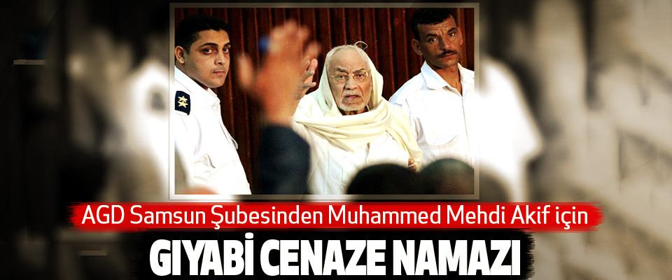 AGD Samsun Şubesinden Muhammed Mehdi Akif için Gıyabi Cenaze Namazı