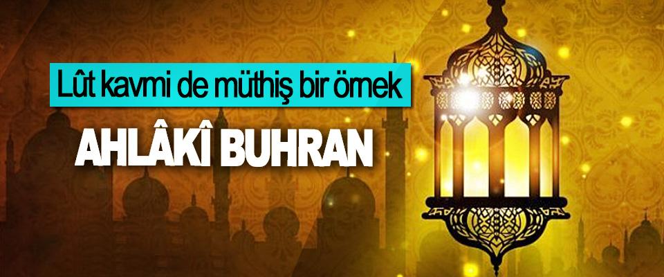 Ahlâkî Buhran