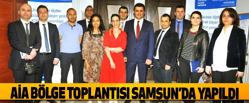 AİA Bölge Toplantısı Samsun'da Yapıldı