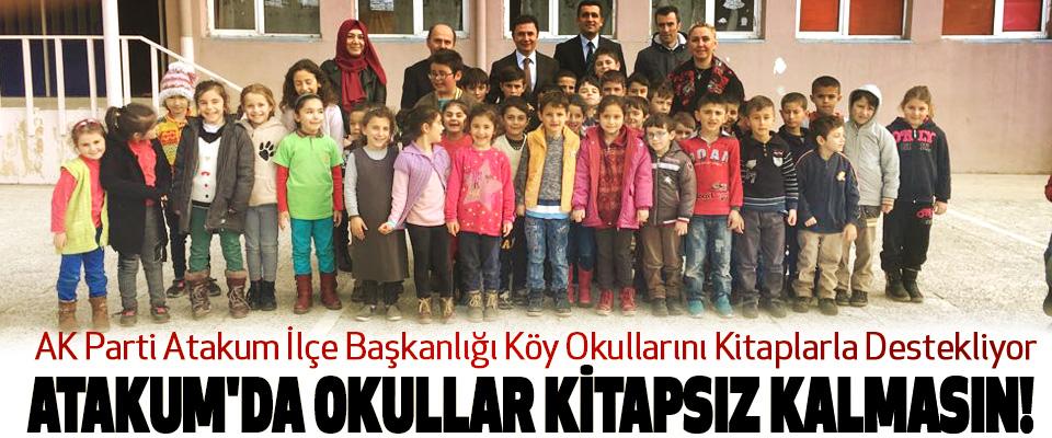 AK Parti Atakum İlçe Başkanlığı Köy Okullarını Kitaplarla Destekliyor