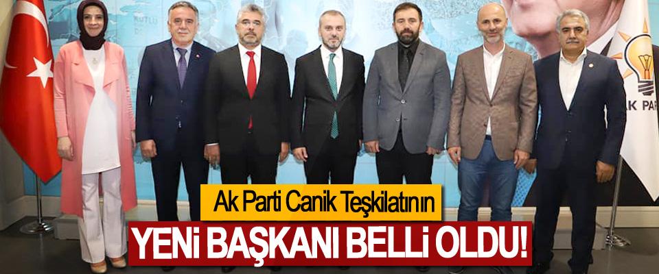 Ak Parti Canik Teşkilatının Yeni Başkanı Belli Oldu!