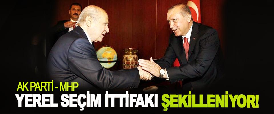 AK Parti-MHP Yerel Seçim İttifakı Şekilleniyor!