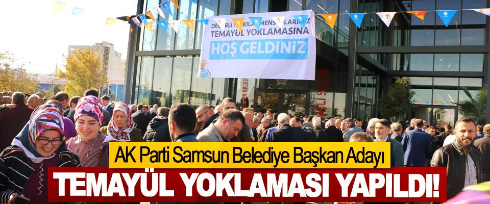 AK Parti Samsun Belediye Başkan Adayı Temayül Yoklaması Yapıldı!