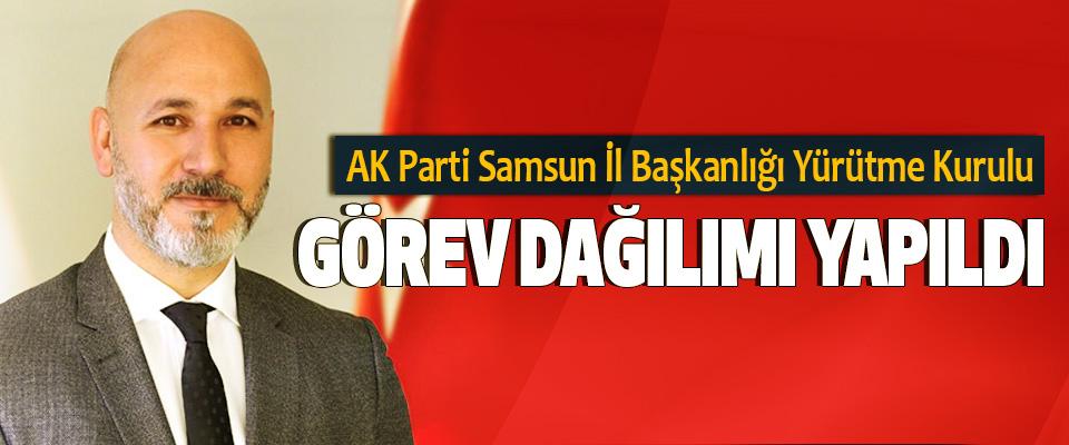AK Parti Samsun İl Başkanlığı Yürütme Kurulu Görev Dağılımı Yapıldı