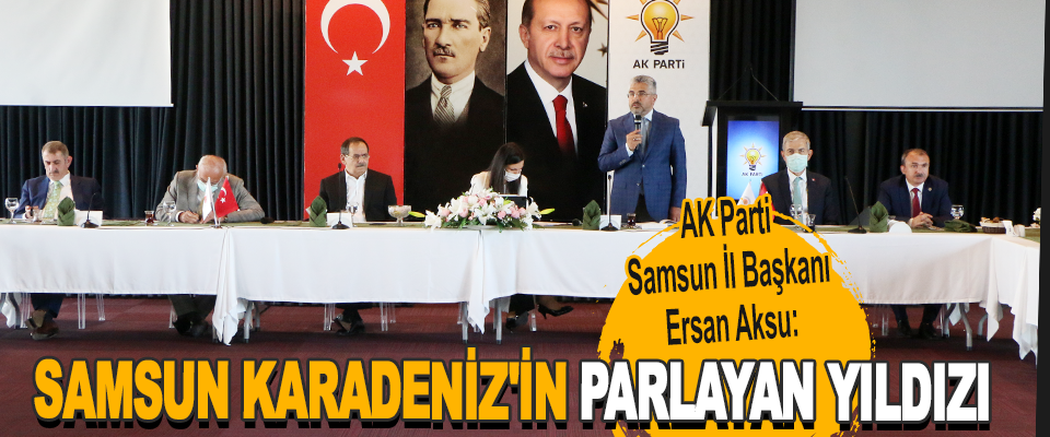 AK Parti Samsun İl Başkanı Ersan Aksu