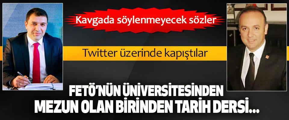 AK Parti Samsun Milletvekili Hasan Basri Kurt ile CHP Samsun İl Başkanı Akcagöz Twitter üzerinde kapıştılar