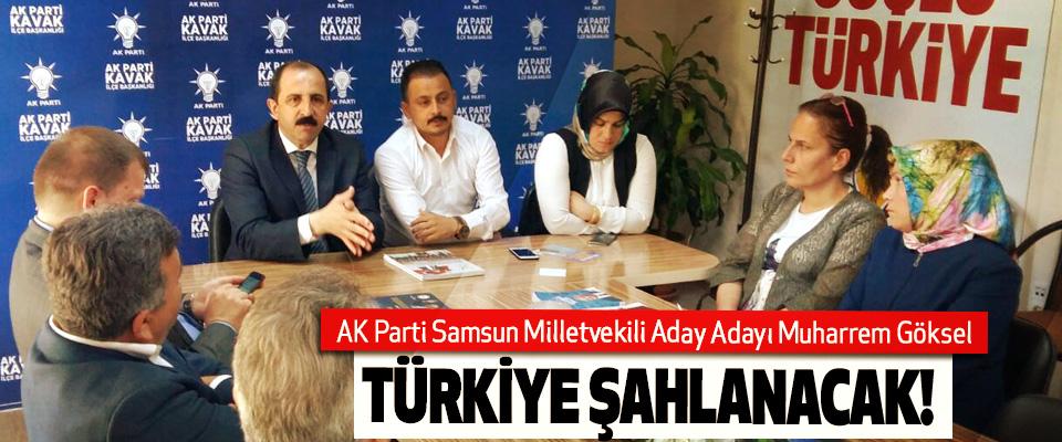 AK Parti Samsun Milletvekili Aday Adayı Muharrem Göksel: Türkiye şahlanacak!