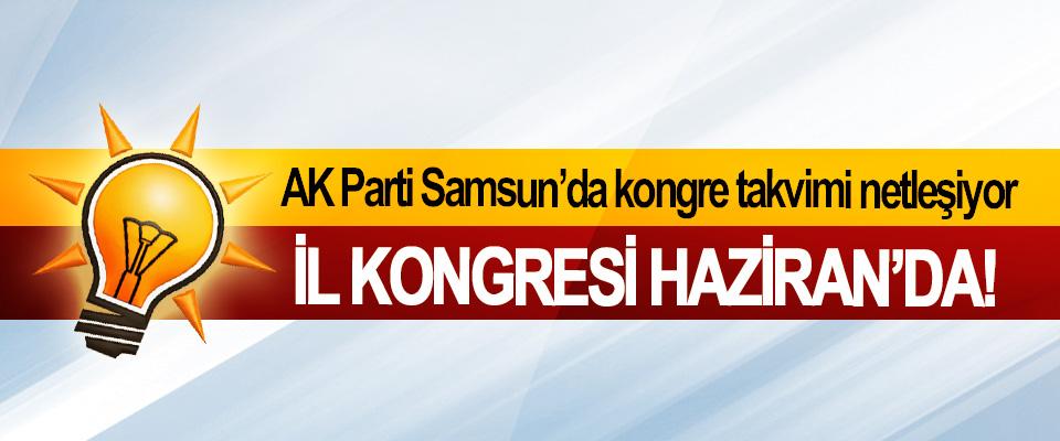 AK Parti Samsun'da kongre takvimi netleşiyor