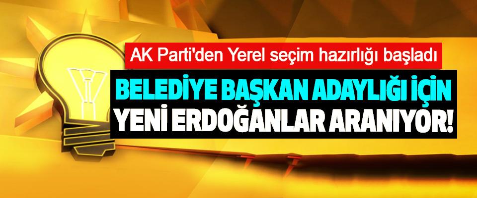 AK Parti'den Yerel seçim hazırlığı başladı