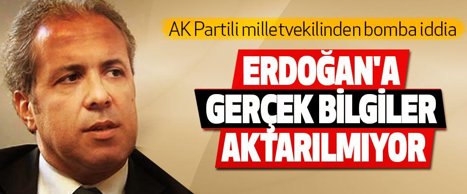 AK Partili milletvekilinden bomba iddia: Erdoğan'a Gerçek Bilgiler Aktarılmıyor