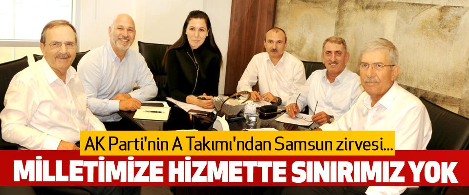 AK Parti'nin A Takımı'ndan Samsun zirvesi...