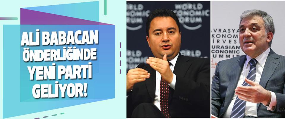 Ali Babacan Önderliğinde Yeni Parti Geliyor!