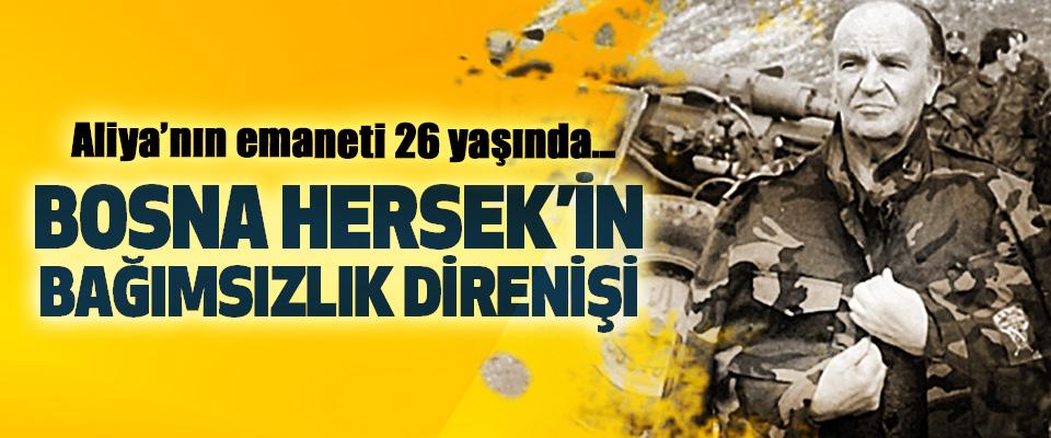 """Aliya'nın emaneti 26 yaşında… Bosna Hersek'in """"Bağımsızlık"""" Direnişi"""