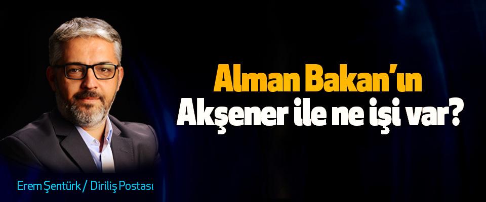 Alman Bakan'ın Akşener ile ne işi var?