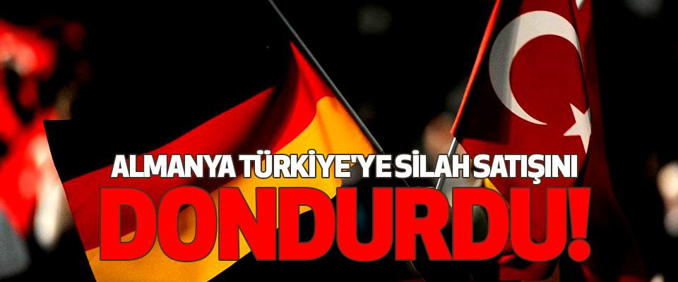 Almanya Türkiye'ye silah satışının büyük kısmını dondurdu