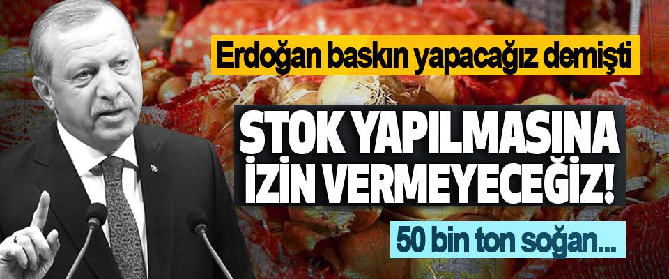 Ankara'da 3 bakanlık yetkililerinden 'soğan' denetimi
