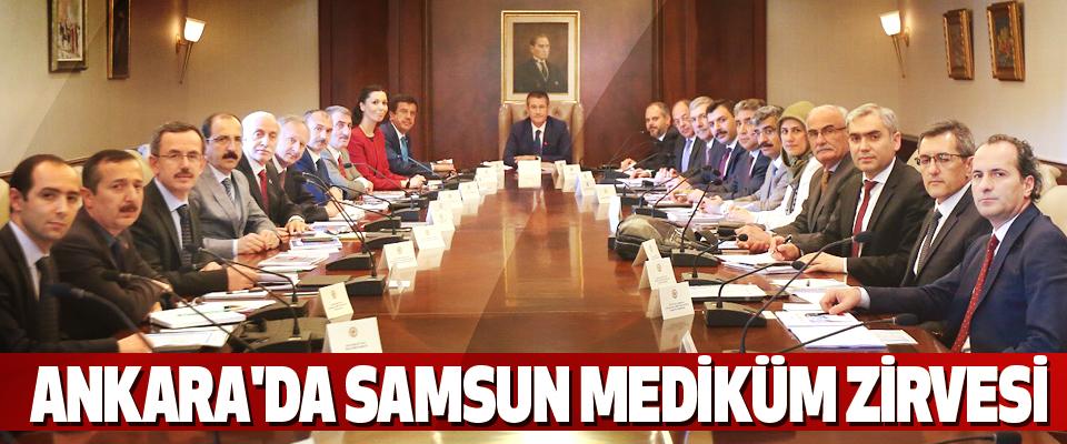 Ankara'da Samsun Mediküm Zirvesi