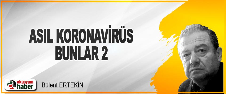 Asıl Koronavirüs Bunlar 2