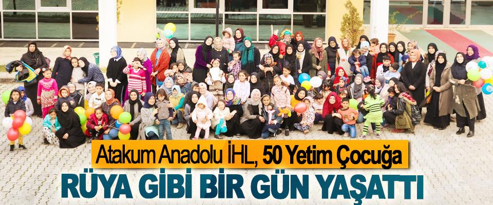 Atakum Anadolu İHL, 50 Yetim Çocuğa Rüya Gibi Bir Gün Yaşattı