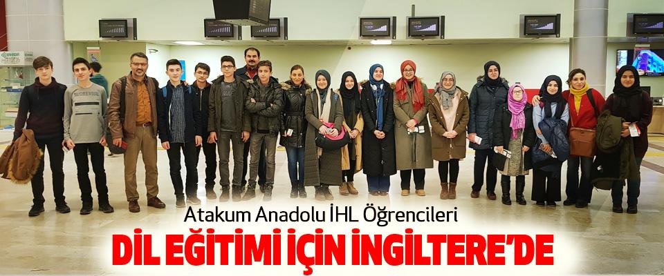 Atakum Anadolu İHL Öğrencileri Dil Eğitimi İçin İngiltere'de