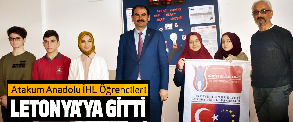 Atakum Anadolu İHL Öğrencileri Letonya'ya Gitti