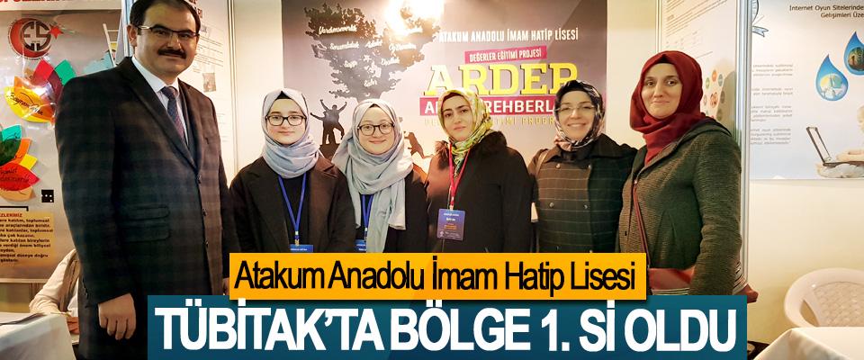 Atakum Anadolu İmam Hatip Lisesi TÜBİTAK'ta bölge 1. Si oldu