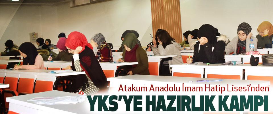 Atakum Anadolu İmam Hatip Lisesi'nden YKS'ye hazırlık kampı