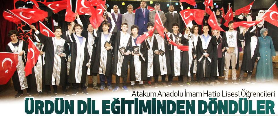 Atakum Anadolu İmam Hatip Lisesi Öğrencileri Ürdün Dil Eğitiminden Döndüler