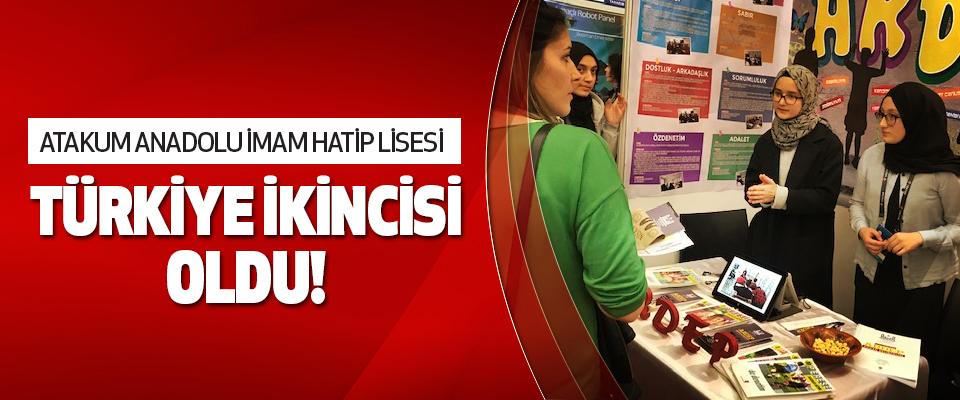 Atakum Anadolu İmam Hatip Lisesi Türkiye İkincisi Oldu!