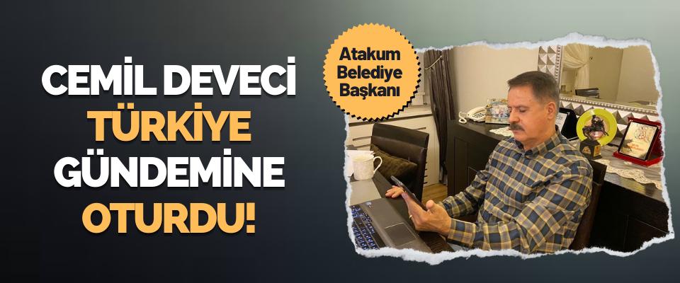 Atakum Belediye Başkanı Cemil Deveci Türkiye Gündemine Oturdu!