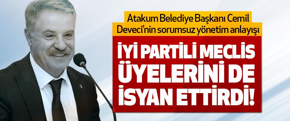 Atakum Belediye Başkan Cemil Deveci'nin Sorumsuz Yönetim Anlayışı